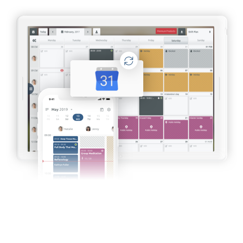 Comprehensive online scheduling system for small and medium businesses