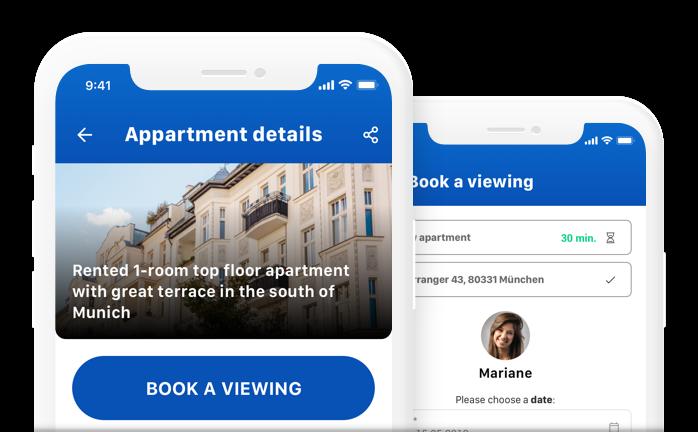 Online-Terminplanung über mobile App