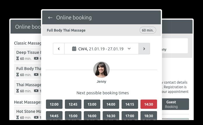 Reserva en línea para Joomla, Wordpress y Drupal