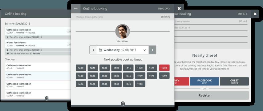 Online Terminbuchung für Joomla, Wordpress und Drupal