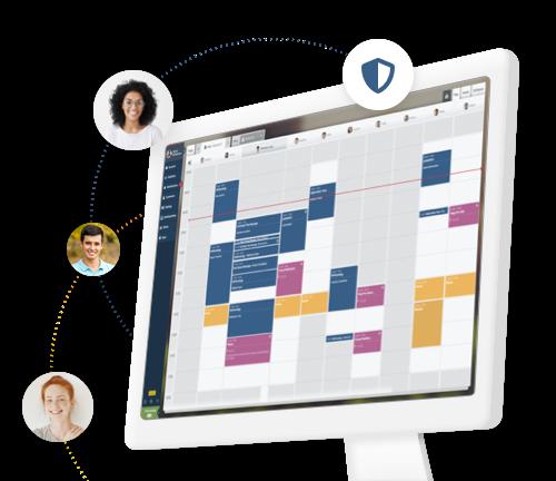 aplicación para ordenador y calendario timify