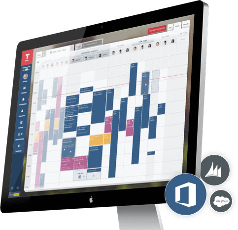 Online appointment calendar for enterprises