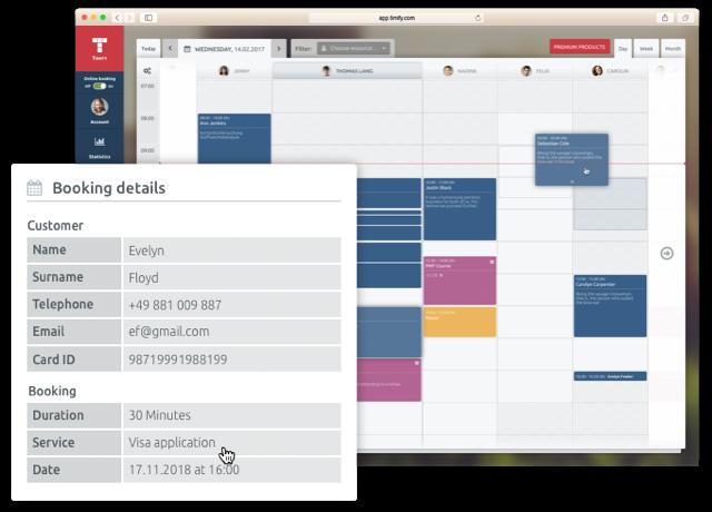 timify Kalender