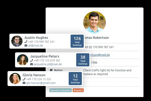 Gestione clienti & Customer API