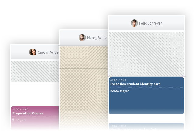 Scheduling tool for schools and universities