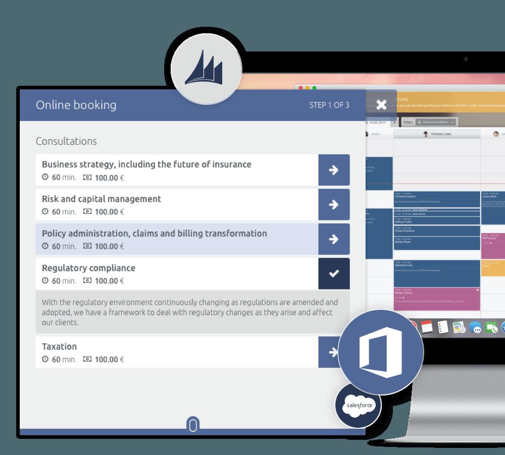 Customisable Online scheduling solution for enterprises