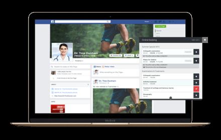 Online- Terminbuchung über Facebook