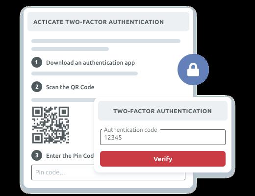 Protección del acceso de usuarios con A2F