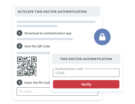 Protect your users access with 2FA