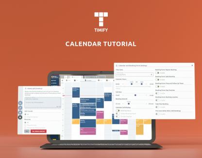 Paramètres du calendrier en ligne TIMIFY