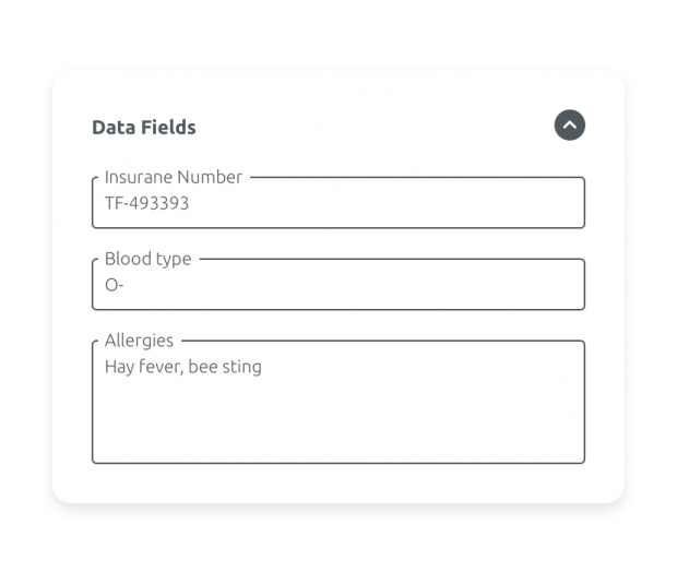 Datenfeldverwaltung