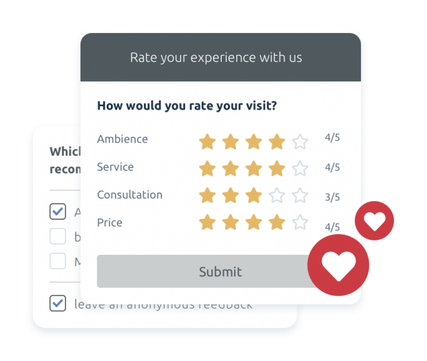Feedback and survey management