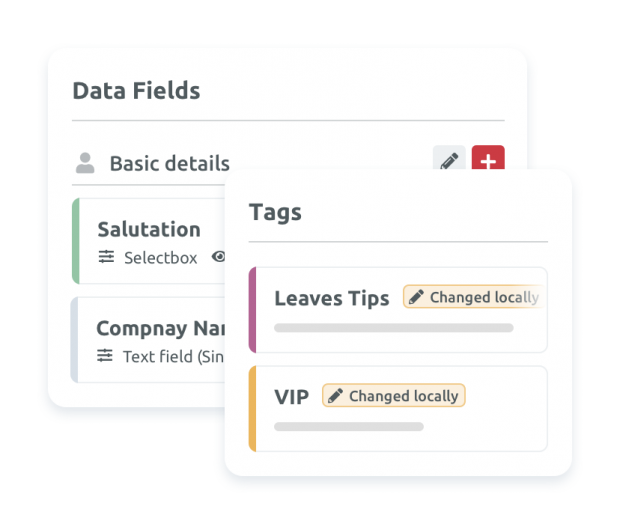 Global Tags and Data Fields Management