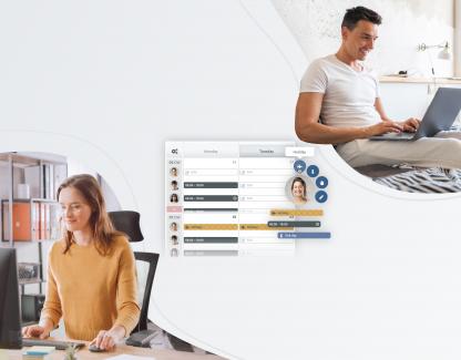 Modelo de trabajo híbrido: haz que funcione con el calendario online de TIMIFY