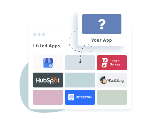 Integrate your software in TIMIFY