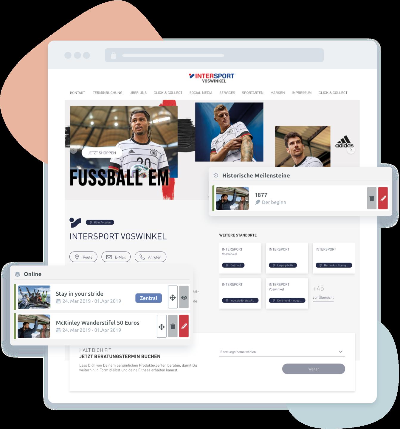 Intersport CMS App