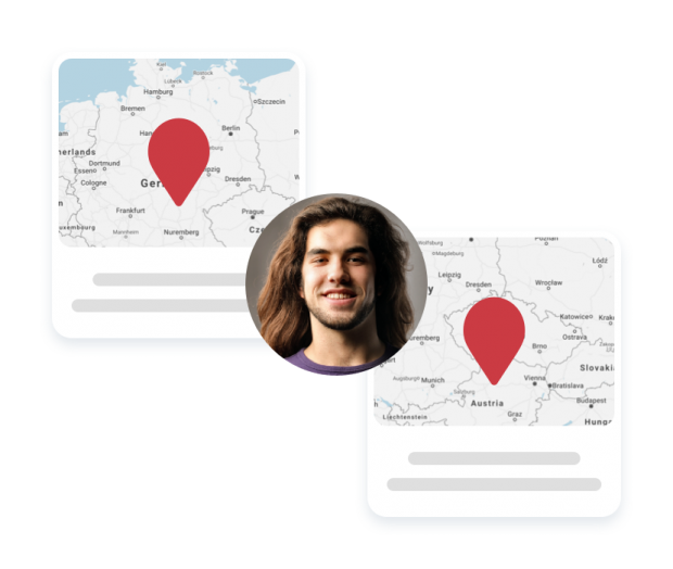 Multi-location users