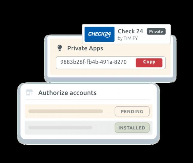 Apps privadas