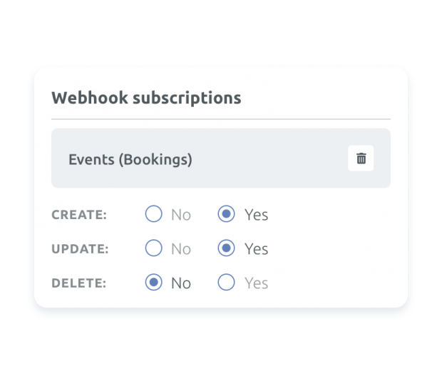 Real-Time Webhooks
