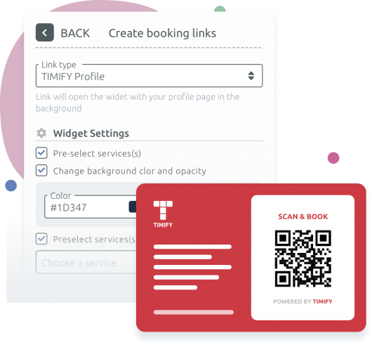 App Booking Links