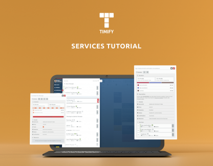 How to add Services to your TIMIFY account