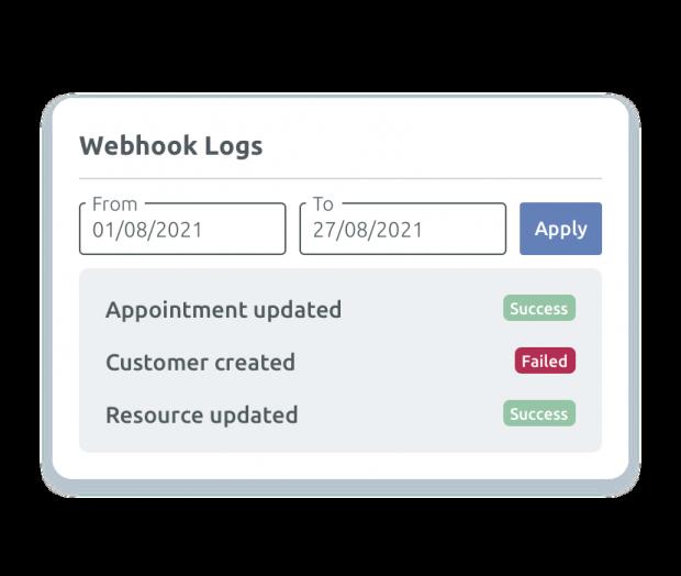 Web-hook logs
