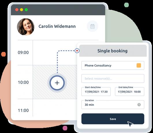 Convenient online booking