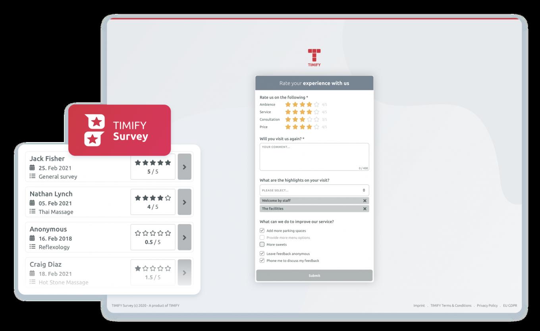 TIMIFY Survey app