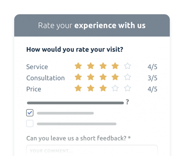 Vary survey formats