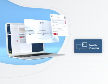 Digitise your client arrivals without losing a personal touch