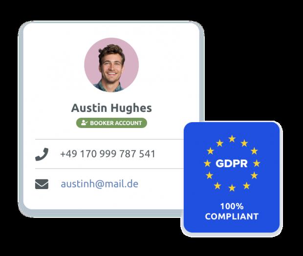 Manage client data better, GDPR compliant