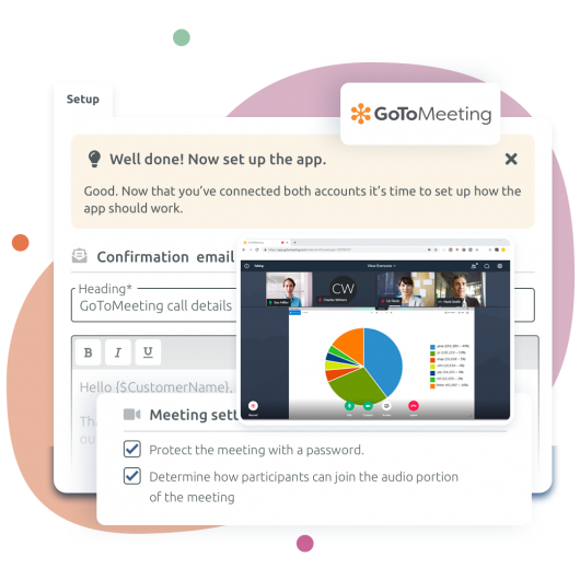 TIMIFY voor GoToMeeting