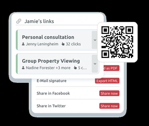 Individual booking links