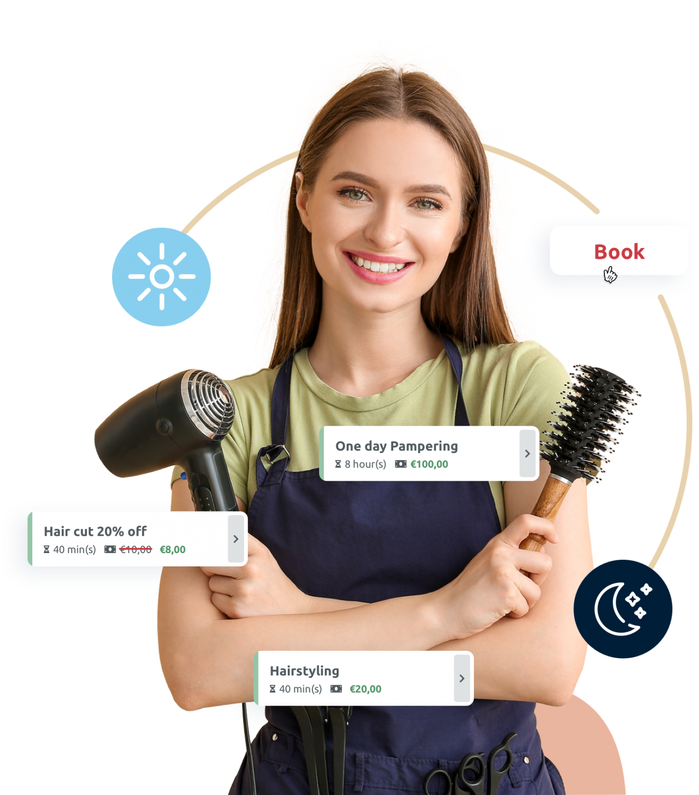 Beauty Salon scheduling software