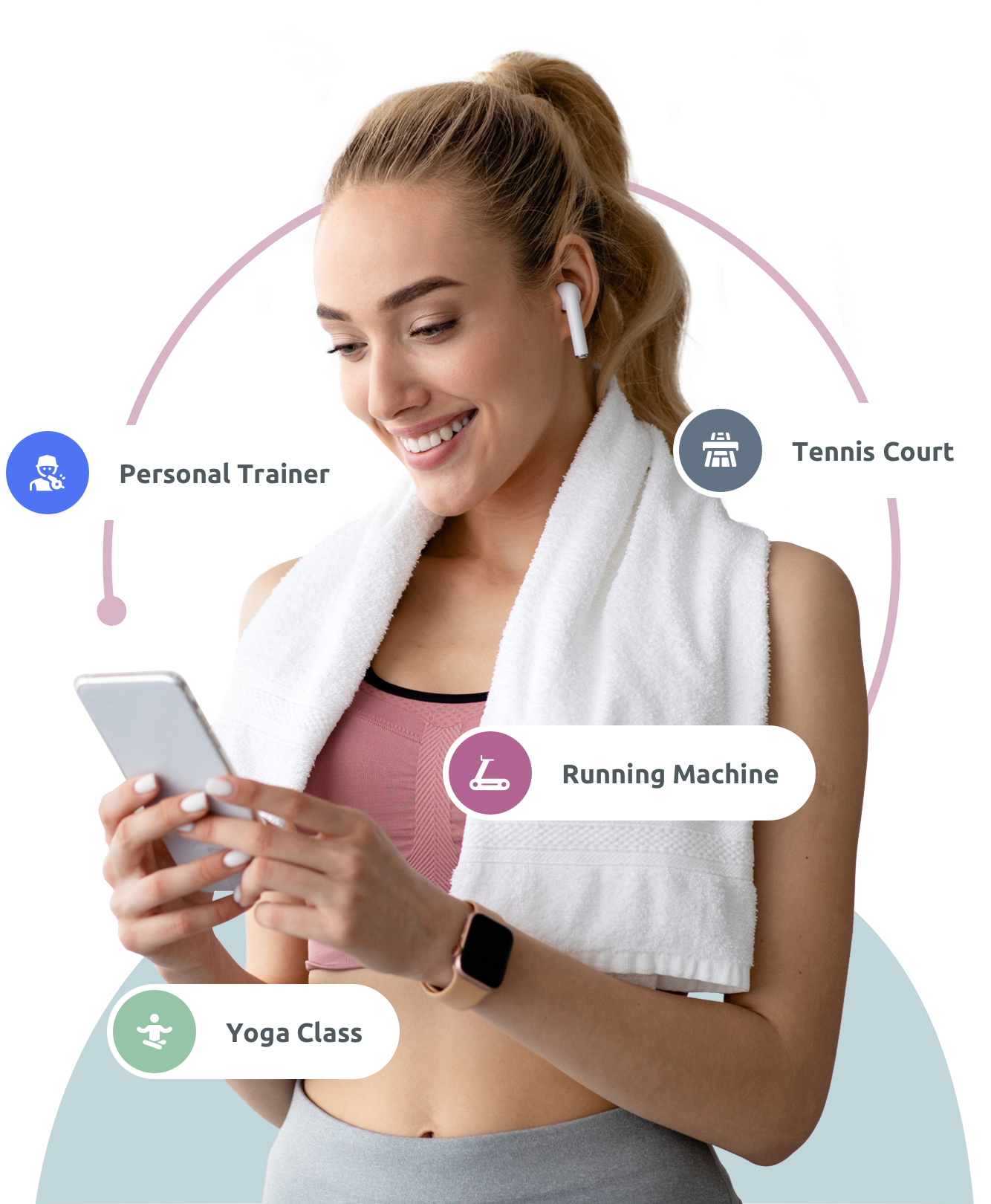 Sports & Fitness Booking System
