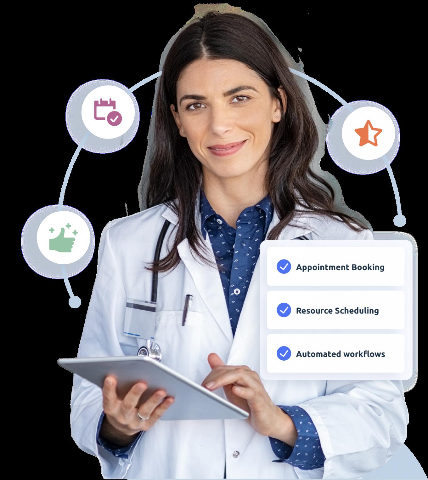 Medical scheduling software