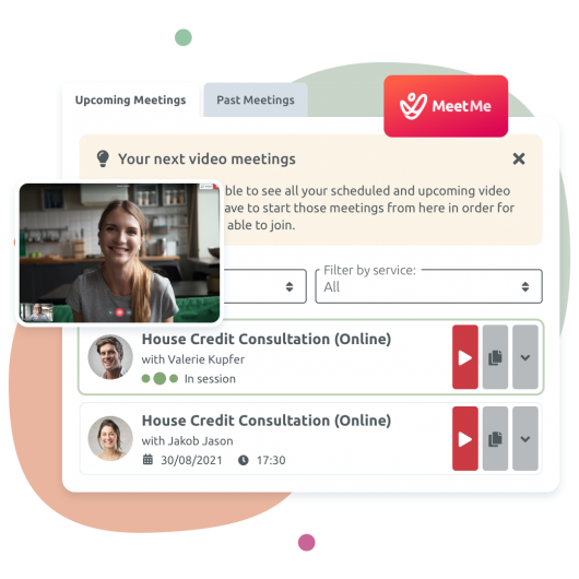 MeetMe App - TIMIFY's in-house solution