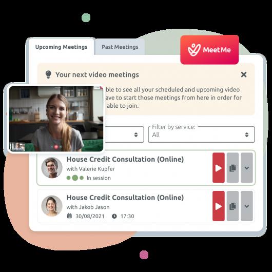 MeetMe App - La solución interna de TIMIFY