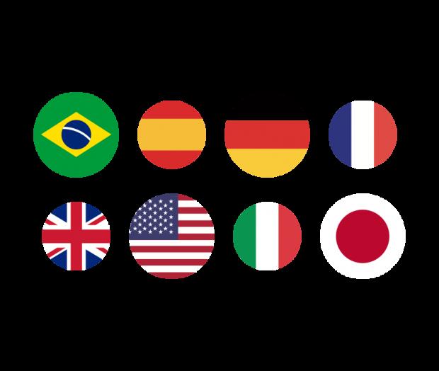 Gestión de varios idiomas y zonas horarias