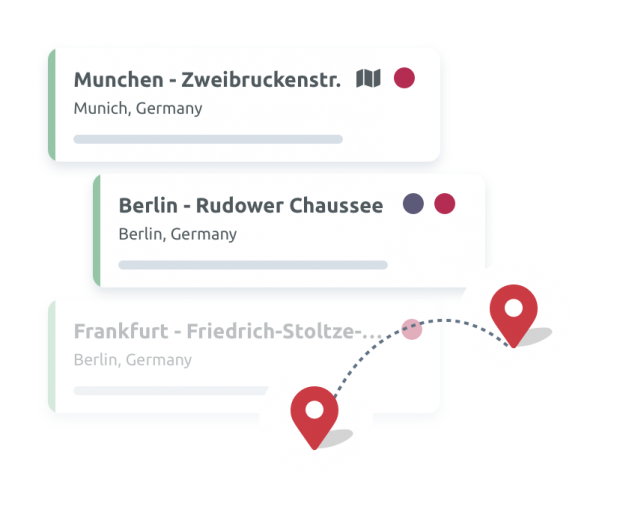 Multi-location management