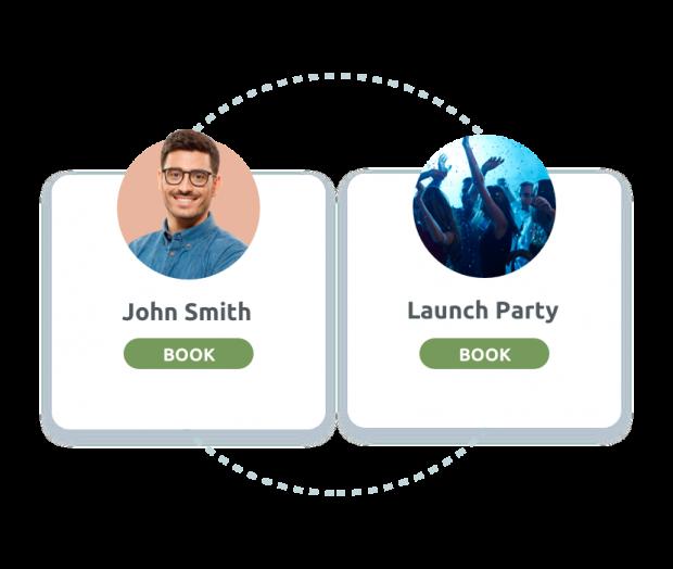 Personalised booking links