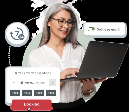 Effortless online booking