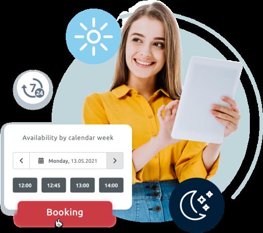 Maximise customer convenience