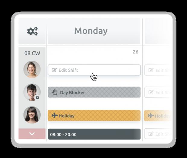 Work schedule planning