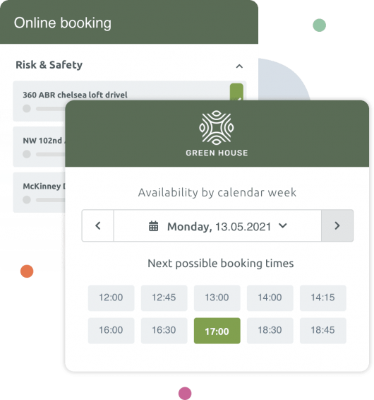 Tailored scheduling solution