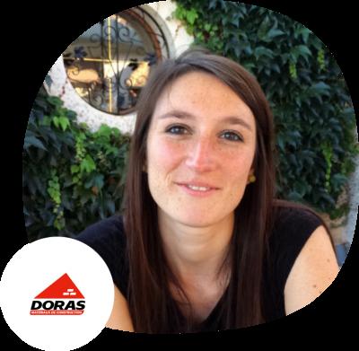 Charlotte Laroye, groupe DORAS